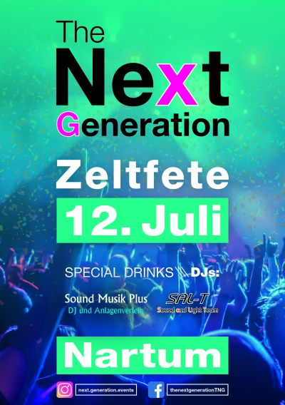 Next Generation Zeltfete 2019